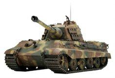 German Tank KingTiger Ambush camouflage (96 pieces)