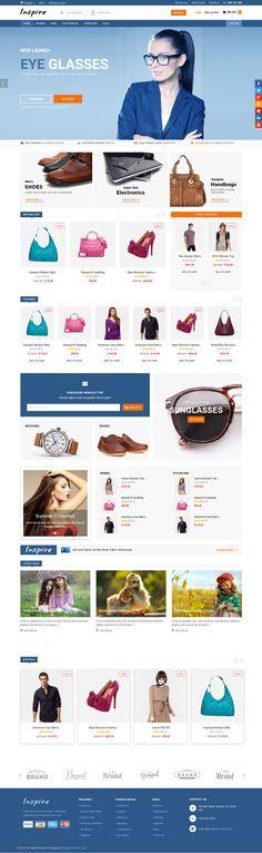 Inspire - Responsive Multipurpose OpenCart Theme #ecommerce #website Download: http://themeforest.net/item/inspire-responsive-multipurpose-opencart-theme/12869617?ref=ksioks