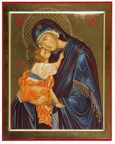 """ Eleousa"" - Mother of God Paola Morandi - iconecristiane - Picasa Web Album Religious Icons, Religious Art, Icon 5, Madonna And Child, Catholic Art, Guardian Angels, Orthodox Icons, Mother And Child, Our Lady"
