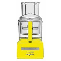 Mooi gevonden op fonQ.nl: Magimix Foodprocessor #yellow