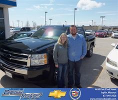 The staff at Crossroads Chevrolet were very friendly and eager to assist in making our vehicle ownership a success! The facility and service department is very nice. The waiting area is very comfortable and family friendly. We appreciate all your help! - brooke silvola  Saturday, March 30, 2013