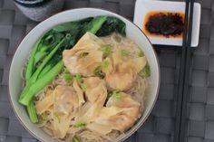 Wonton noedelsoep 雲吞湯麵 - Recepten   Amazing Oriental