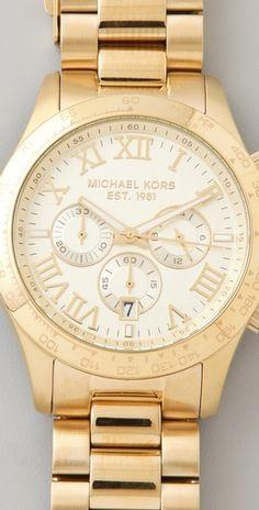 Michael Kors - Layton Chronograph Watch - Style #:MKWAT40068