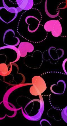 Lovehearts Beautiful Wallpaper Images, Wallpaper Images Hd, Bling Wallpaper, Pretty Phone Wallpaper, Heart Wallpaper, Locked Wallpaper, Cute Wallpaper Backgrounds, Cellphone Wallpaper, Flower Wallpaper