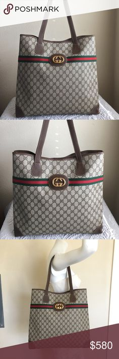 4e33b0f7c101 Gucci Vintage GG Supreme Tote Bag This beauties are back, Gucci launch  spring collection 2018