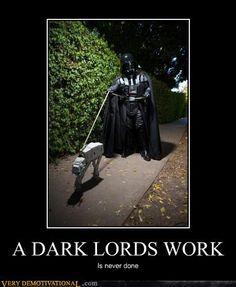 A Dark Lord's work...