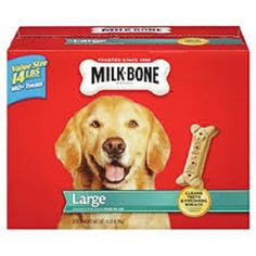 Milk-Bone Large Dog Biscuits, 14-Pound * New and awesome dog product awaits you, Read it now  : Dog treats