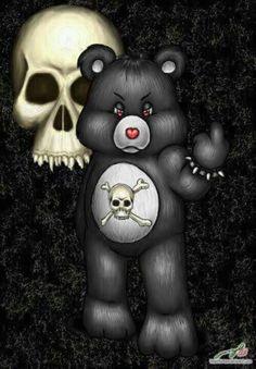 care bear skull