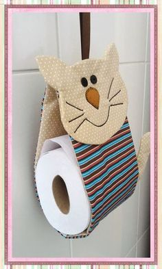 Toilet Paper Origami, Diy Toilet Paper Holder, Fabric Doll Pattern, Fabric Dolls, Diy And Crafts, Arts And Crafts, Paper Crafts, Baby Shower Deco, Sewing Projects For Beginners