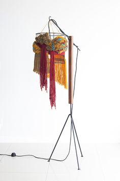 interlaces luminaria - Dennys Tormen, e a designer de moda Luiza Caldari