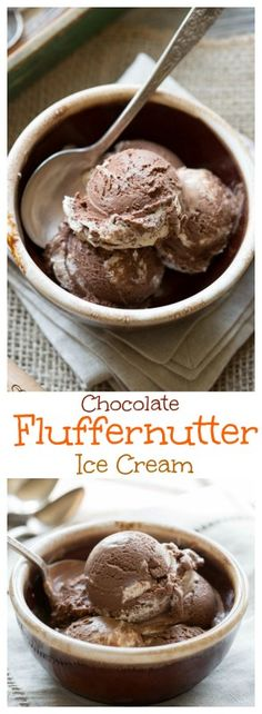 Chocolate Fluffernutter Ice Cream Ice Cream Treats 4adefd39c1c53