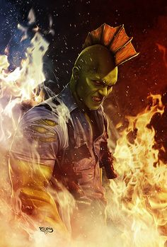 Savage Dragon by Tariq (Image comics) Comic Book Characters, Comic Character, Comic Books Art, Character Design, Book Art, Amazing Drawings, Amazing Art, Awesome, Fun Comics