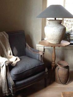 Installer un petit coin cosy près de la porte fenetre côté jardin