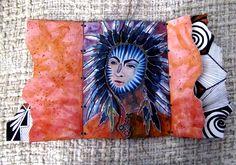 Handpainted Hopi Book - Tawa - Page 2