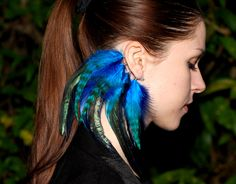 Feather ear cuff Eclipse by Njuu on Etsy, $26.00