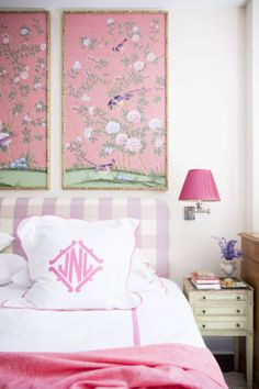 More great ways to decorate with pink at http://domino.com