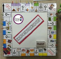 HOMEWORKOPOLY -  A fun way to motivate students to complete their homework assignments.