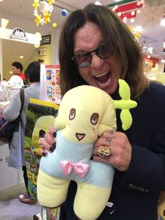 Looking forward to see Funassyi at @TheOzzfest Japan this weekend!