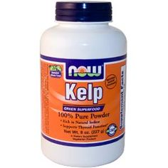 Now Foods Kelp 100 Pure Powder 8 Oz. for sale online Green Superfood, Super Greens, Vegan Vegetarian, Whole Food Recipes, Organic, Powder, Pure Products, Foods, Healthy