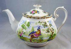 Royal Albert CHELSEA BIRD teapot