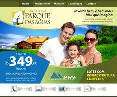 Hot site  Campanha - Loteamento Parque das Águas