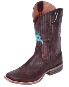Twisted X Men's Hooey Boots - Chocolate Shoulder / Chocolate