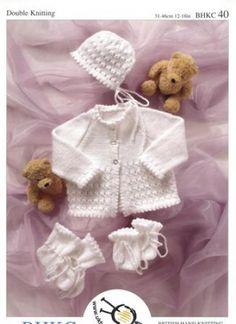 FREE PATTERN ..Easy Knitted Booties | Bundles Of Love