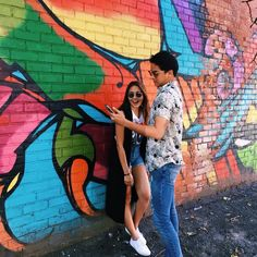 This is the pretty Kathryn Bernardo and the handsome Daniel Padilla having a good quality time in Brooklyn, New York City with the rest of the ASAP Kapamilya. Indeed, KathNiel is another of my favourite Kapamilya love teams and Star Magic talents.