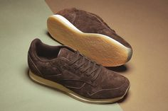 Reebok Classic Leather Crepe Sole Brown Sage