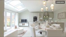 #kitchen Open Plan Kitchen Dining, Open Plan Living, Living Room Kitchen, Shaker Style Kitchens, Home Kitchens, Kitchen Orangery, Extension Veranda, Garden Room Extensions, Kitchen Diner Extension