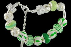 silver plated items: bracelet with lobster, enamel beads, balls, locks. Five glass beads with 925 silver core. Pandora Like Bracelets, Glass Jewelry, Glass Beads, Cheap Fashion Jewelry, Fashion Jewellery Online, Italian Jewelry, Wholesale Jewelry, Locks, 925 Silver