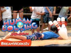Striking Fool   HUMAN BOWLING SHOWDOWN - YouTube