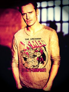 Michael Fassbender is wearing an X-Men jumper.  Your arguement is inalid.