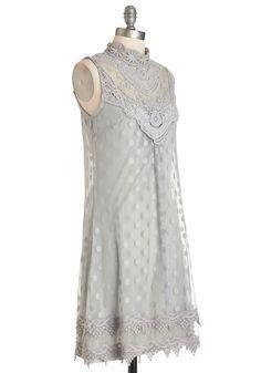 Gray Grey Bridesmaid Dress | $90 | ModCloth | wedding ceremony reception bridesmaids maid of honor silver