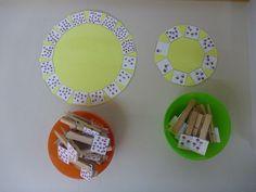Zählspiel Kindergarten
