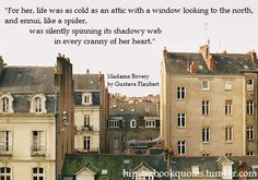 Madame Bovary quote