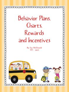 Daily Classroom Behavior Charts | Behavior Management Bundle - Daily Behavior Plans, Charts, Rewards ...