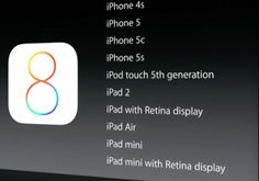 Apple iOS 8 Releasing on 17 September as Free Software Update for iPhone and iPad Models
