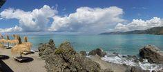 San Gregorio beach in Capo d'Orlando  ( province of Messina-Sicily)