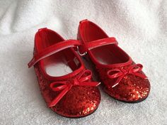 New Ruby Slippers like Dorothy in the Wizard of Oz - Available in a variety of sizes!