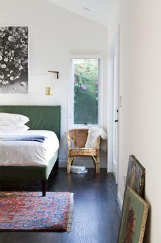 master bedroom // chair as nightstand // smitten studio