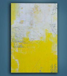 Yellow Stone by erinashleyart on Etsy, $275.00
