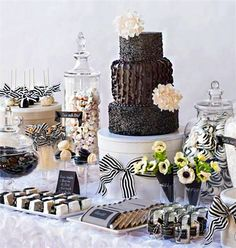 Wow your guests with a dessert bar!