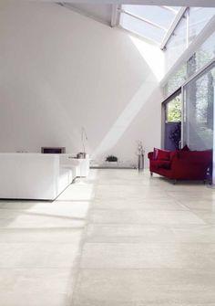 Baldosa de suelo / de gres porcelánico / imitación hormigón - NR.21 : CEMENTO NATURALE - VIVA Ceramica