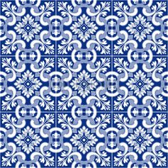 Traditional tile, Azulejo