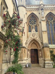 Oxford university. Exeter college.
