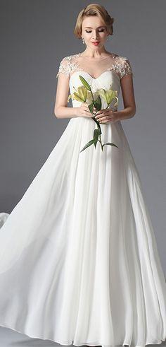 eDressit Long Wedding Gown