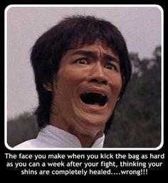 Muay Thai ! martial arts, mma training and fight humor. Facebook Muay Thai Memes bruce lee