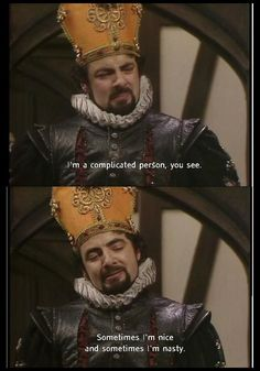 Game of Adders Black Part 2 - Blackadder meets Game of Thrones Comedy Quotes, Comedy Tv, Film Quotes, Funny Quotes, British Comedy Series, British Tv Comedies, Welsh, Blackadder Quotes, Mr Bean Funny