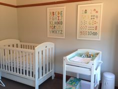 Grotime vogue cot and duke change table